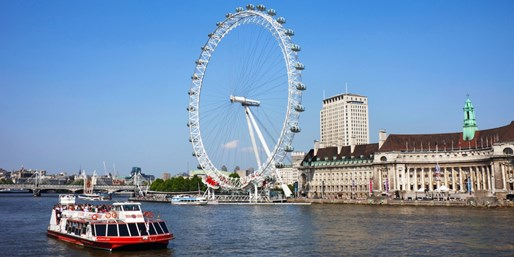$11  -- Hop-on, Hop-off Thames Riverboat Cruise, Save 45%