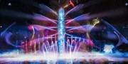 夜幕下的水光盛宴!北京奥运特效团队倾力打造大型跨媒体实景水秀《天幕水极》 欢乐谷全球首演