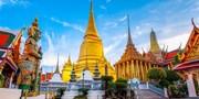 ¥480起 -- 直飞 含税!往返曼谷超值机票 落地签 含周末/元旦