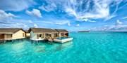 ¥12,999起 -- 趁国内人潮未赶来!马尔代夫6星奢华岛屿自由行 137平沙屋+水屋 享2儿童免费