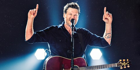 $35 -- Blake Shelton: One Night Only in Boston
