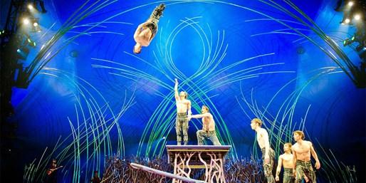 ab 39 € -- Düsseldorf: Exklusivpreis für Cirque du Soleil