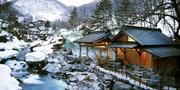 $1,715 起 -- 歎日本最大露天雪見秘湯 雙人寶川溫泉旅館一泊二食