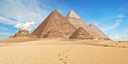 ¥99,800 -- 燃油込エジプト クフ王ピラミッド含む観光&全食事&添乗付が破格