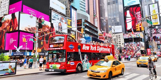 £599pp -- Orlando & NYC Holiday w/Statue of Liberty Cruise