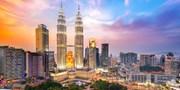 $150 & up -- Return Flights to Kuala Lumpur from 4 Cities