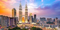 $150 & up -- Return Flights to Kuala Lumpur from 4 Cities