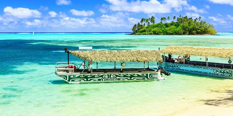 $1566 -- 5 Nts at Award-Winning Cook Islands Resort for 2