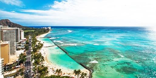 ¥287,000 -- 燃油込 年末有休いらずハワイ×ハイアット トロリー&空港送迎付