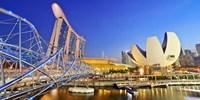 ¥35,127 -- 燃油不要 国交50周年 旬のシンガポール4日間ツアー 5つ星泊も得
