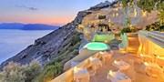¥36,781 -- 絶景サントリーニ島 受賞歴多数5つ星リゾート×スイート客室がお得