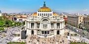 ¥112,104 -- 直行 世界遺産の街メキシコシティ6日間 好立地4つ星シェラトン連泊