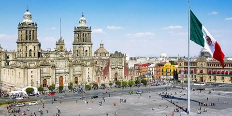 ¥112,104 -- 直行 世界遺産の街メキシコシティ6日間 4つ星シェラトン泊