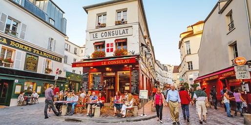 パリ 街並みイメージ