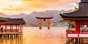 ¥7,800 -- 広島2日間ツアー 往路朝発・復路夜着滞在長め 個別手配の半額以下