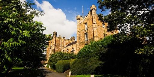 £89 -- Co Durham: 'Magnificent' Castle Stay w/Cream Tea