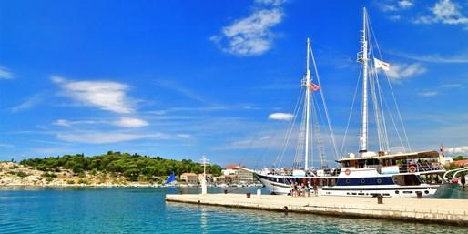 449 € -- Sonnenwoche auf Segelschiff in Kroatien, -350 €