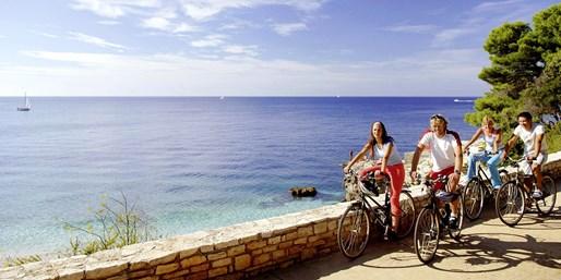 ab 599 € -- Inselhüpfen & Fahrradfahren in Kroatien