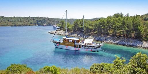 ab 589 € -- Segeln & Wandern: Aktivkreuzfahrten in Kroatien