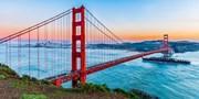 ¥4,200起 -- 开航特惠!美联航直飞往返旧金山 可联运美国多城