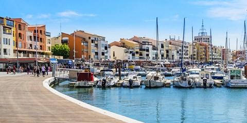 Dès 284€ -- Cap d'Agde : résidence près du port & des plages
