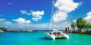 ab 2680 € -- Seychellen: 14 Tage mit Katamaran, Flug & HP