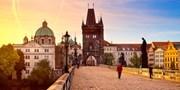 349€ -- Escapada 4 días a Praga y minicrucero por el Moldova