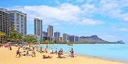 ¥129,800 -- まだ間に合う夏休みハワイ6日間フリーツアー チャーター便利用
