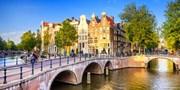 129 € -- Amsterdam im stylischen Hotel & Grachtenfahrt, -30%