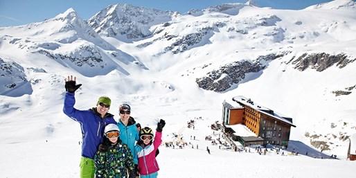 ab 149 € -- Winterurlaub & Vollpension auf über 2300 Metern