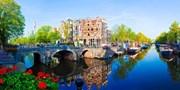 ab 129 € -- Amsterdam-Kurzurlaub mit Grachtenfahrt