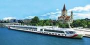 ab 499 € -- 8-tägige Donau-Kreuzfahrt inkl. Vollpension