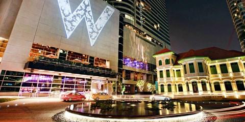$3,999 起 -- 聖誕限定!W Bangkok 5 套票 勁減25%