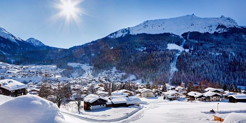 Dsd 199€ -- Alpes suizos: noche 4* y spa en Davos, -47%