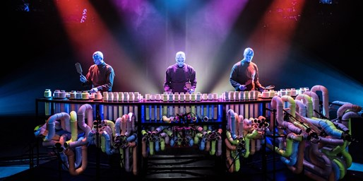 $52 -- Blue Man Group's New Show at Luxor, Reg. $80