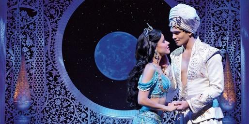 ab 68 € -- Neu: Top-Tickets für Disneys Aladdin, bis -25€