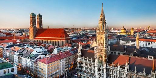 ab 159 € -- Bahnreise nach München mit 4 Tagen Hotel, -39%
