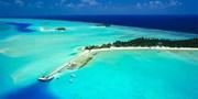 ¥5,383起 -- 立减1500!马尔代夫6日自由行 法式海岛海景别墅+沙滩全覆盖+免费水上活动