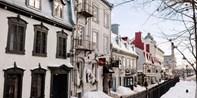 121€ -- Charme et gastronomie dans le Vieux-Québec, -47%