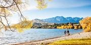 ab 4660 € -- Neuseeland: 26-tägige Zug- & Camperreise, -150€