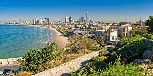 £319pp  & up -- Israel: Beach, City & Touring Holidays