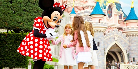 £98pp -- Disneyland Paris: 4-Nt Break w/Disney Park Tickets