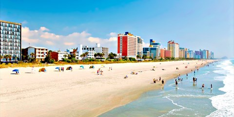 $109 -- Myrtle Beach Ocean View Room over Summer Dates