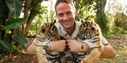 £134 -- Kent: Big Cats Afternoon Tea & Tour for 2, Reg £160