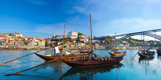 £34 & up -- Fly to Porto from 3 UK Airports (Rtn)