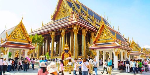 £316 & up -- Bangkok: Return Flights from London