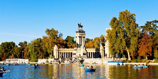 £34 & up -- Madrid: Return Flights from 3 UK Airports