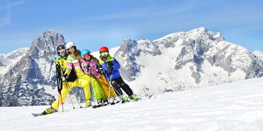 ab 308 € -- 4 Tage Skivergnügen mit Skipass & Wellness