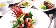 ¥9,980 -- バラ・紫陽花ほか花盛りの伊豆 オーシャンビュー無料UP&伊勢エビ・伊豆牛など選べるディナー