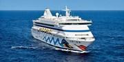 1049 € -- AIDAaura: 2 Wochen Ostsee ab/bis Kiel